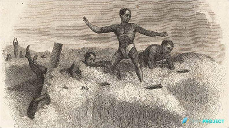 Los primeros surfistas